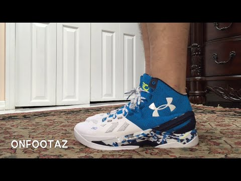 873954c33ed Under Armour Curry 2 Haight Street On Foot - YouTube