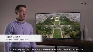 TV Sony BRAVIA 2014 seria W7 - RTV EURO AGD