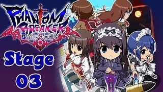 Phantom Breaker: Battle Grounds - PC - Stage 3  Ikebukuro  - Walkthrough Gameplay - HD 1080p
