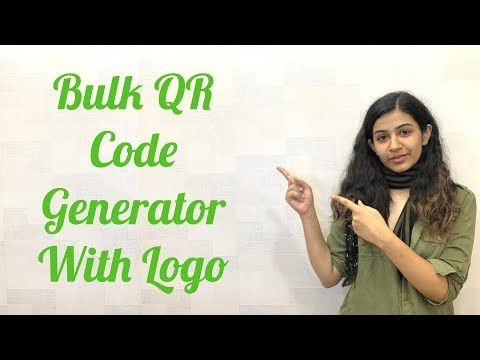 How To Make a Social Media QR Code with Logo + Track Data |🎭.