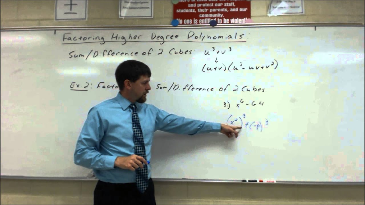 Factoring Higher Degree Polynomials