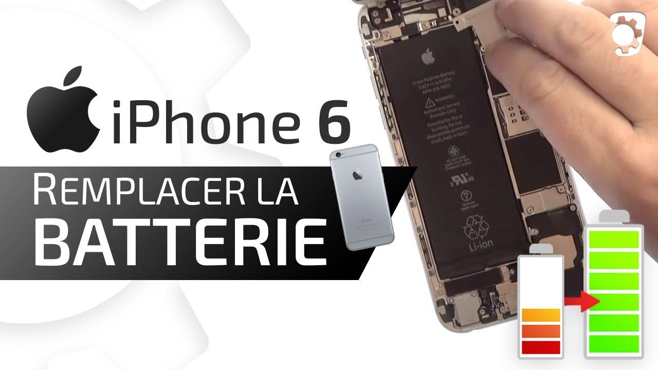 Changer Sa Batterie Iphone