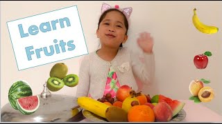 Learn Name of fruits with elah | Fruits Name in English
