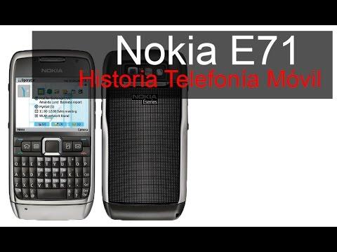 Nokia e71, anunciado en 2008 | Historia Telefonía Móvil