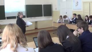 Открытый классный час (Учитель русского языка Спиридонова Я.Г.)