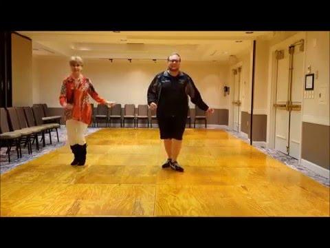 Carolina Girls Line Dance   (Demo & Teach)