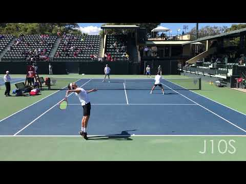 J10S Top Doubles Points - College Tennis 2019