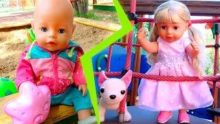 Беби бон гуляет на детской площадке - все серии. Сборник для детей Как мама