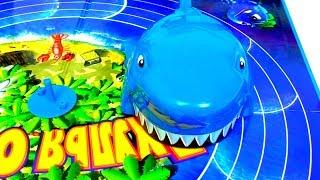 ТРАНСФОРМЕРЫ Автоботы и Гигантская АКУЛА Игры для мальчиков Развлечения для детей