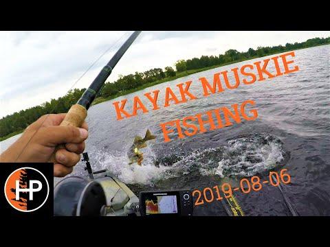 Otonabee River Kayak Muskie Fishing 2019-08-06
