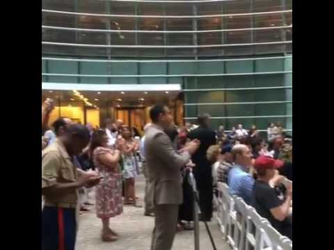 "Marine Corps Band New Orleans ""Century of Service"" Concert in NYC"