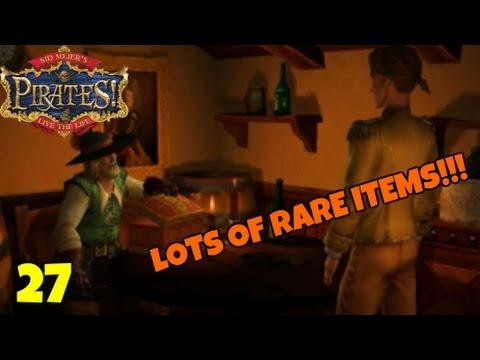 "Sid Meier's Pirates! ""LOTS OF RARE ITEMS!!!"" E27"
