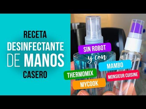 Desinfectante casero para manos [CORONAVIRUS COVID-19] a mano o con Thermomix Mambo MyCook