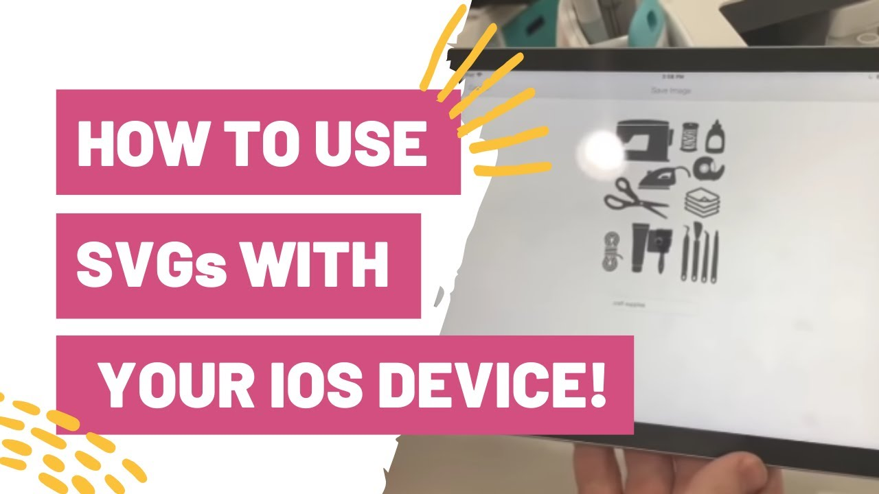 HOW TO USE SVGs WITH YOUR IOS DEVICE! USING YOUR IPAD WITH CRICUT DESIGN  SPACE!