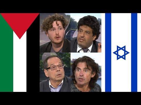Débat chaud sur Gaza, la Palestine et Israël ÇVR 10-07-2014