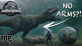 5 Hidden Mistakes In Jurassic World