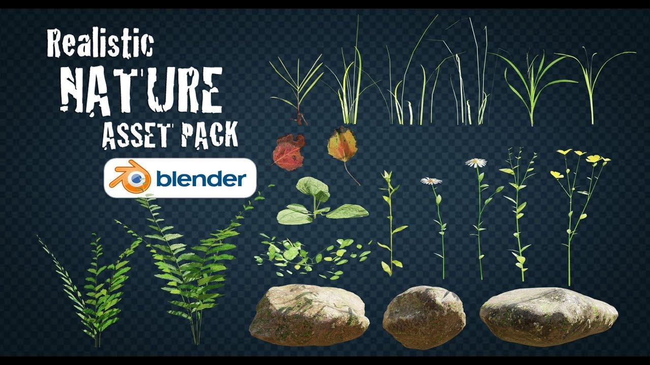 Realistic Nature Asset Pack