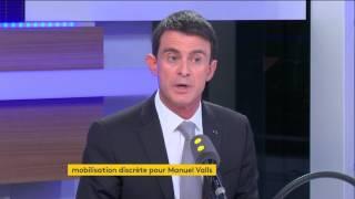 Valls ne veut pas