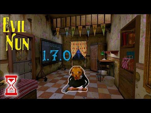 Обновление 1.7.0! Монахиня собака и новые декорации | Evil Nun 1.7.0