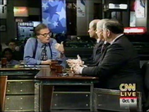 1996 10 16 Browne, Hagelin, Phillips on Larry King 2nd debate