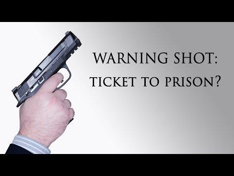 Warning shot: Ticket to prison? -Texas