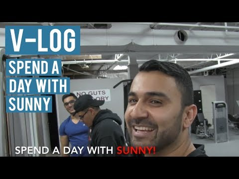 VLOG: Spend A DAY WITH SUNNY! (Hindi / Punjabi)