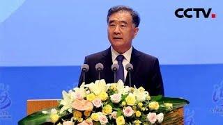 《第十一届海峡论坛大会》汪洋出席并致辞 20190616 | CCTV中文国际