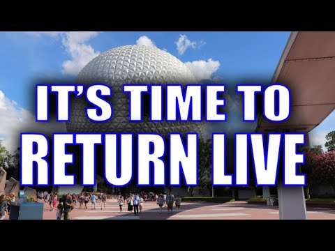 It's Time To Return To Disney - Join Me Live