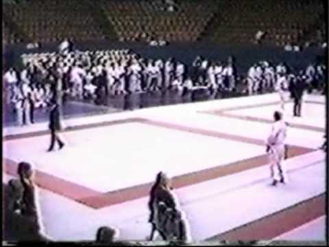 Walt Lamb Judo Matches 1987 Great Lakes State Games