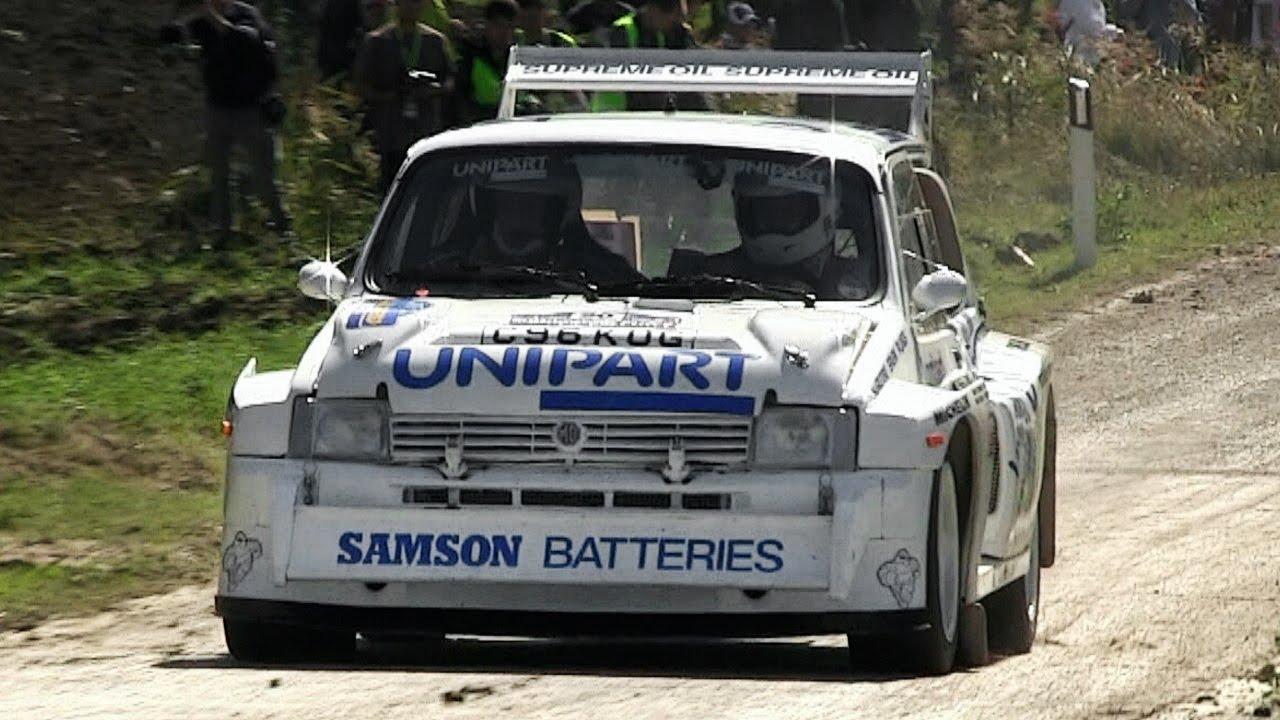 MG Metro 6R4 Group B Rally Sound - Rally Legend San Marino - YouTube