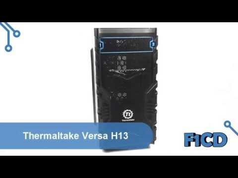 Thermaltake Versa H13: обзор корпуса