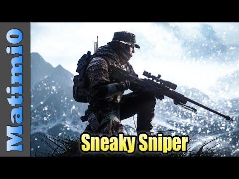 Sneaky Sniper - Battlefield 4