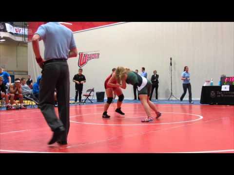 2013 Wesmen Duals: 59 kg Emily Kessler vs. Laryssa Barry