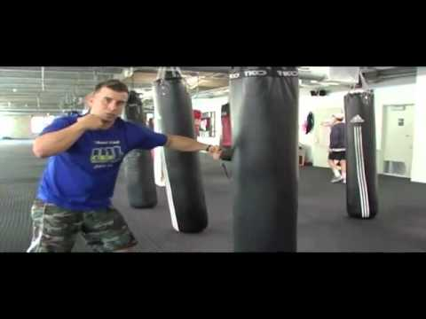Heavy Bag Workout Routines MMA Kickboxing Or Boxing