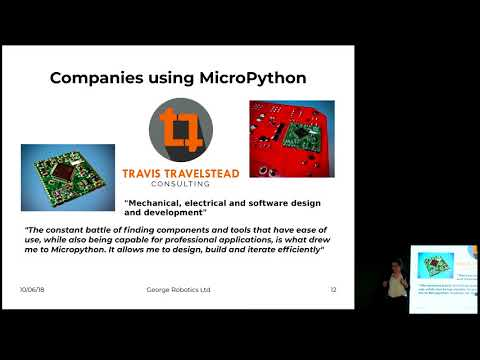 Image from MicroPython used in industrial applications
