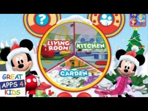 Mickey Mouse Clubhouse Color and Play (Christmas Theme) | Coloring ...