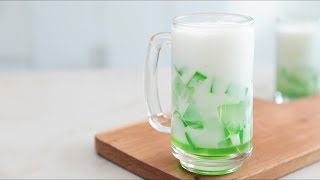 Buko Pandan Cooler Recipe | Yummy Ph