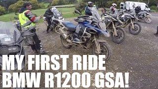 BMW R1200GS Adventure Offroad Test Ride!