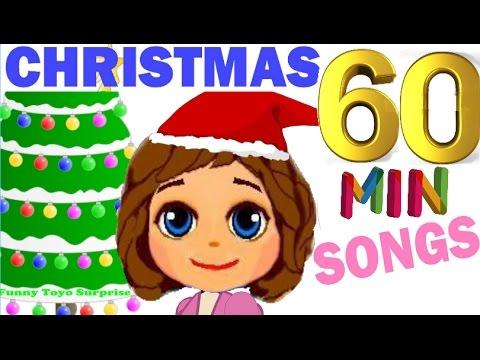 1 Hour BEST Merry Christmas & Happy New Year Popular Songs Carol Cartoon Animation Nursery Rhimes