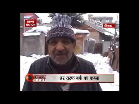 Question hour: Snowfall engulfs Srinagar and Kashmir valley