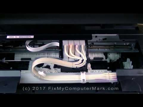 How to Clean a Clogged Epson ET-2550 EcoTank Printer Printhead