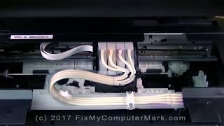 How to Clean a Clogged Epson ET-2550 EcoTank Printer Printhead