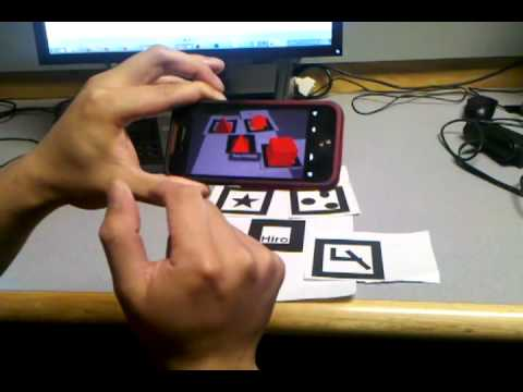 Virtual Graffiti: Augmented Reality on Android - Graffiti Builder Demo