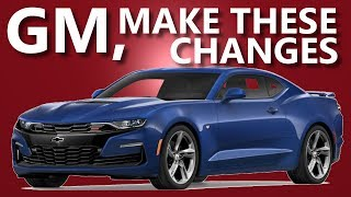 Why the 2019 Camaro Refresh Matters