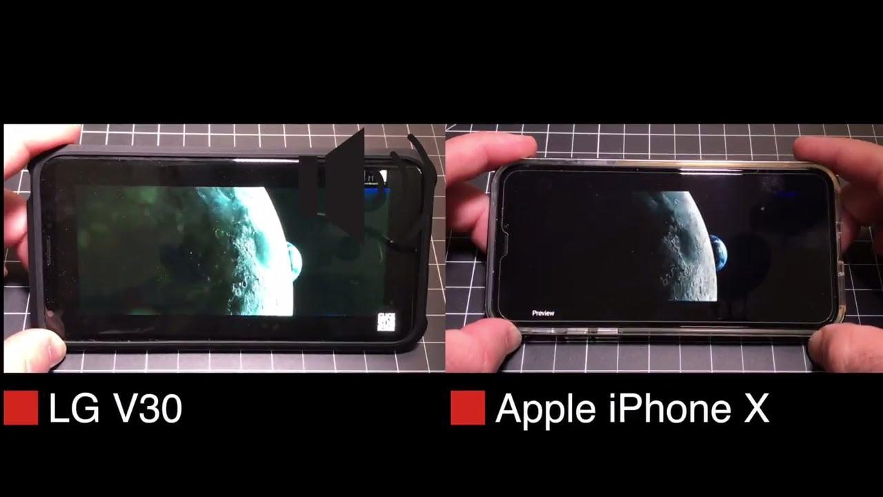 Speaker Test Battle! Who has the best Audio Playback? LG V30 or iPhone 10?  Who has the best speaker?