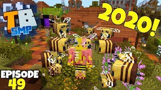 Truly Bedrock Episode 49! 2020 Will Bee Amazing! Minecraft Bedrock Survival Let's Play!