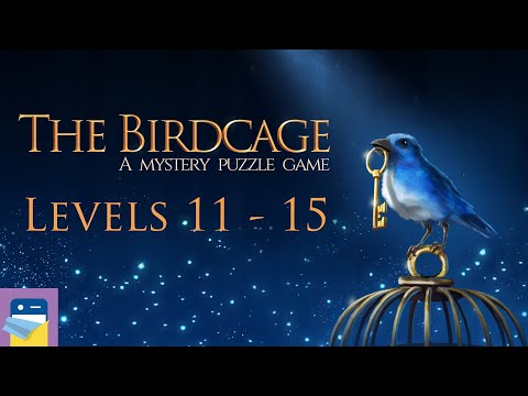 The Birdcage: Levels 11 12 13 14 15 Cardinal Walkthrough + All Gems & Letters (by Kaarel Kirsipuu)