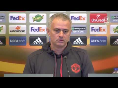 Jose Mourinho & Anthony Martial's Pre Match Press Conference   Manchester United vs Saint Etienne