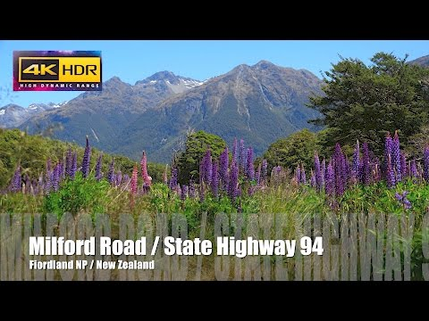 Milford Road / State Highway 94 / New Zealand / Sony FDR AX100 / 4K