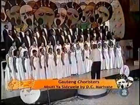 Gauteng choristers performs amabutho by bongani magatyana youtube.